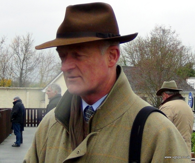 Willie mullins on his horses