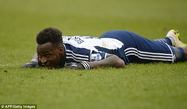 Saido Berahino. Down but not out. Yet.