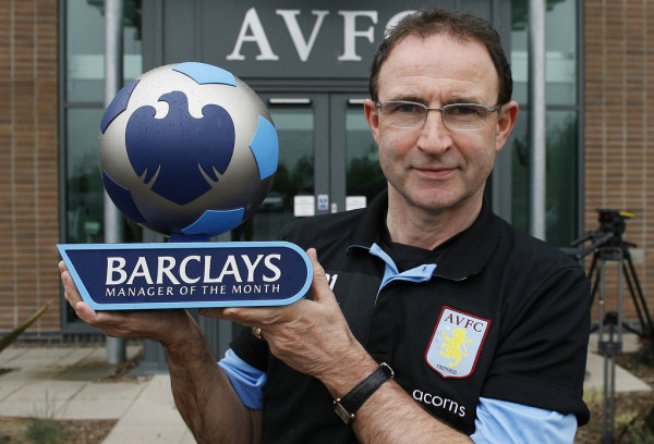 Martin O'Neill overachieved at Aston Villa
