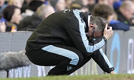 It's over and out for Paul Lambert