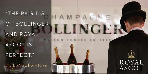 cahmpagne bollinger photo by course