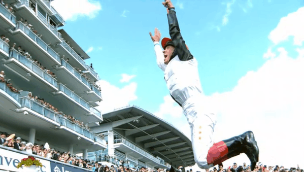 Frankie flying high. Photo: C4 Racing