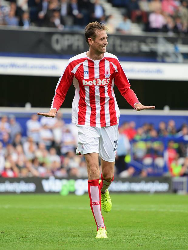 Peter Crouch by Getty Images