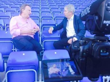 Neil Warnock talks to Alan Biggs