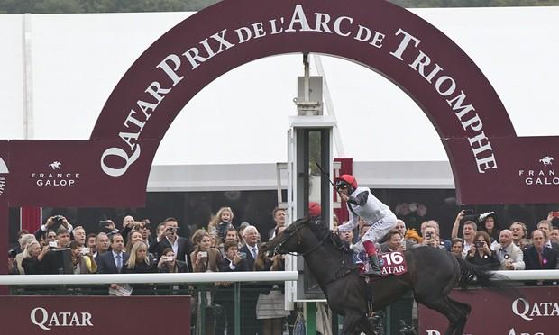 Golden Horn wins the Prix de l'Arc de Triomphe