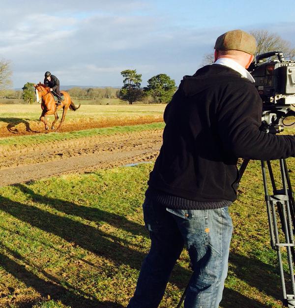 Senior Cameraman Adrian Camm is a Channel 4 Racing stalwart