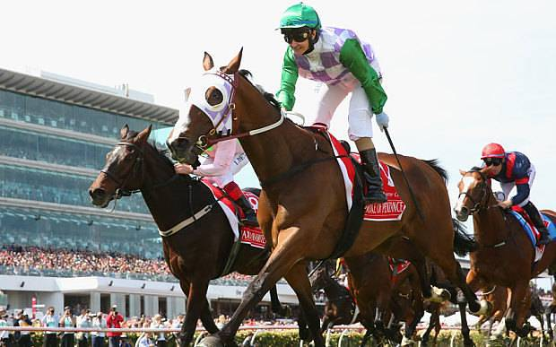 Michelle Payne rides into the history books