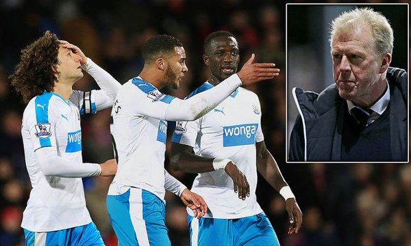 Lazy, incompetent & not good enough. Newcastle players let down the manager and fans