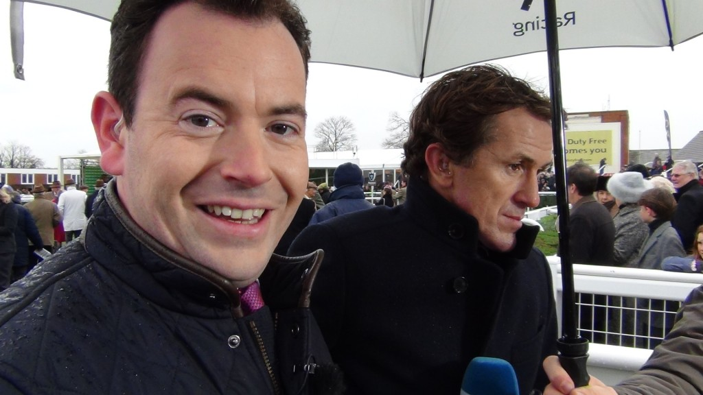 Nick Luck and AP McCoy - up close & personal via VG TIPS