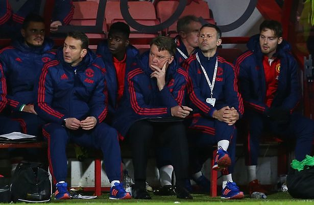 Van Gaal. Does he know what he's doing?...