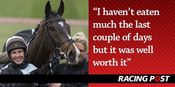 Richard Johnson. An appetite for winning. Photo: Racing Post