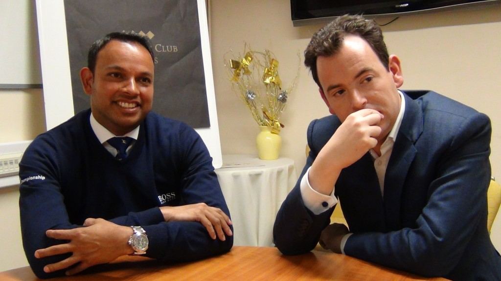 Nick Luck and Rishi Persad, presenters of channel 4 racing speak out to vgtips