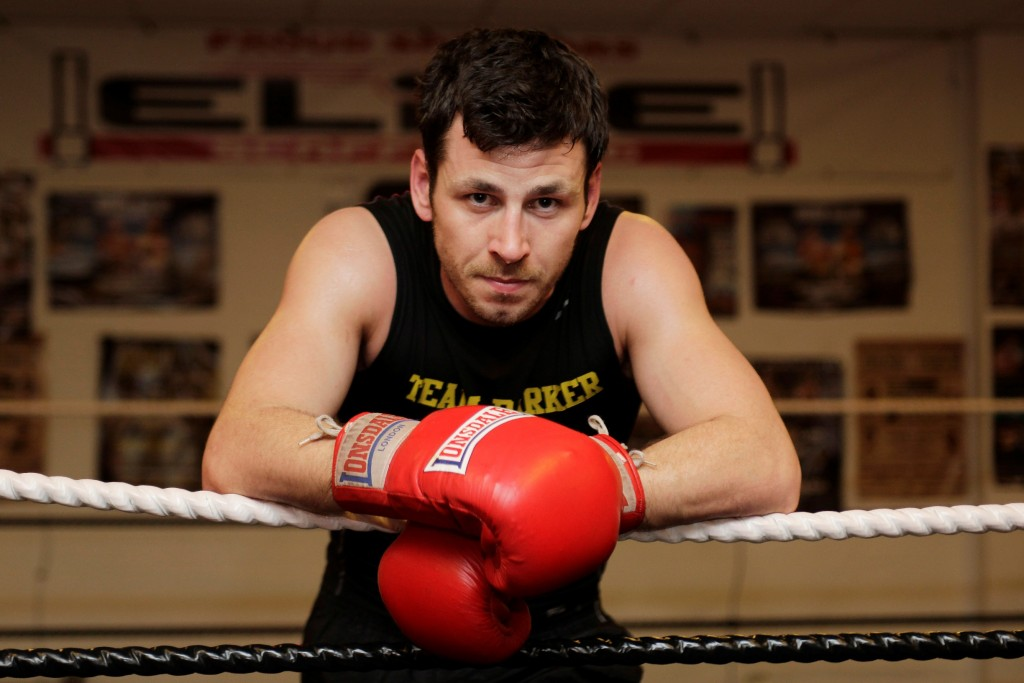 Darren Barker tells his life story to Ian Ridley