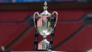The FA VASE is up for grabs. Photo by Tom Dulat - The FA/The FA via Getty Images)
