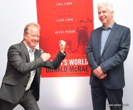 Donald McRae wrote the book A Man's World