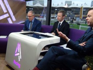 VG TIPS behind the scenes with Channel 4 Racing. Part 4. Carl Hicks.