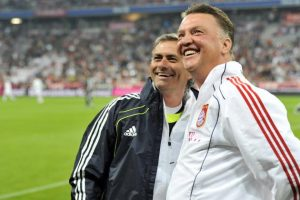 jose mourinho and van gaal worked together in 1997