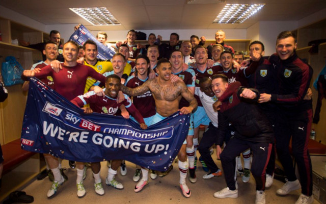 Burnley promoted as champions of the championship