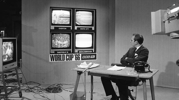 david coleman presented world cup 1966 tv coverage
