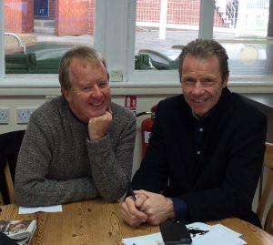 vernon grant of vg tips interviews mick fitzgerald