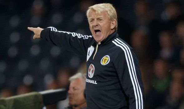 gordon strachan brings scotland to play england at wembley