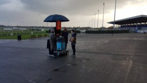 go to kempton park racetrack and you'd think the gates were locked shut says geoff banks