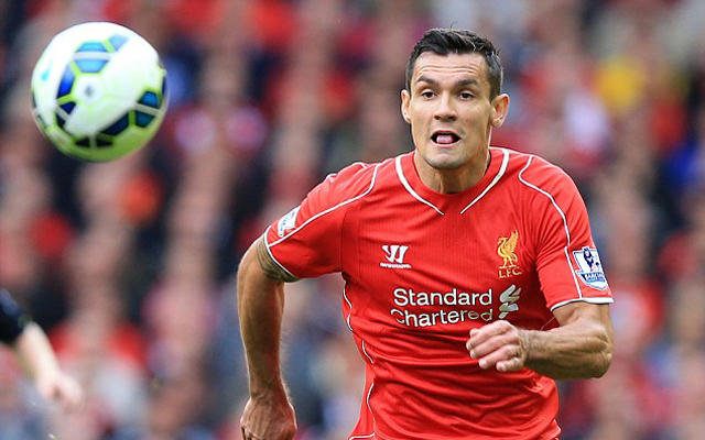 Dejan Lovren plays for Liverpool