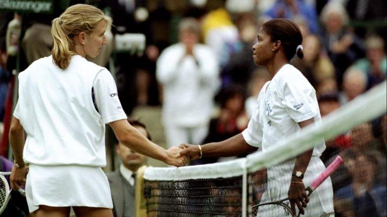 Steffi Graf loses in round 1 Wimbledon 1994
