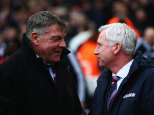 Alan Pardew & Sam Allardyce. Usual Suspects – the sequel