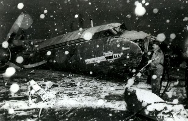 munich air crash photo