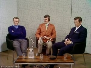 Sport on TV. Malcolm Allison v Alan Mullery. A confrontation in 1970