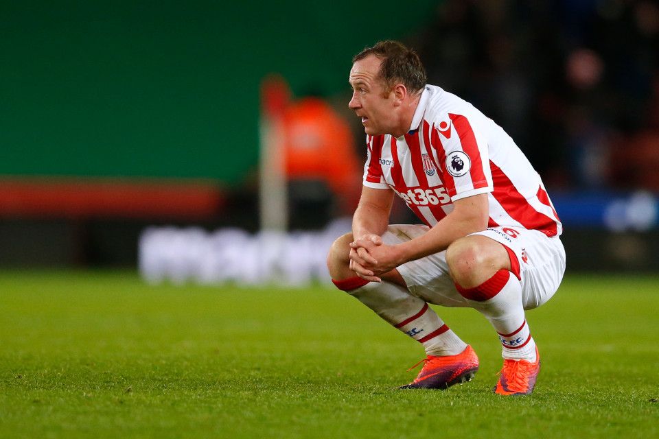 charlie adam on stoke city relegation