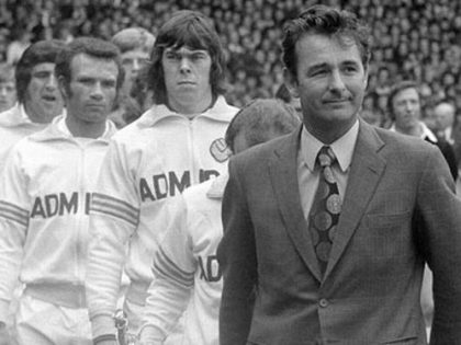 Sport on TV. Brian Clough the new manager of Leeds United. 7 weeks later…