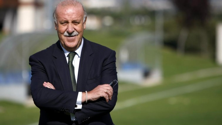 vincente del bosque ex spain manager
