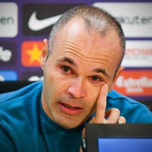iniesta retires from barcelona