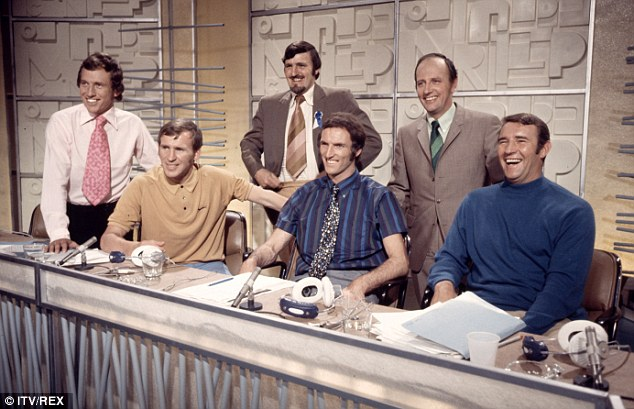 1970 world cup TV panel