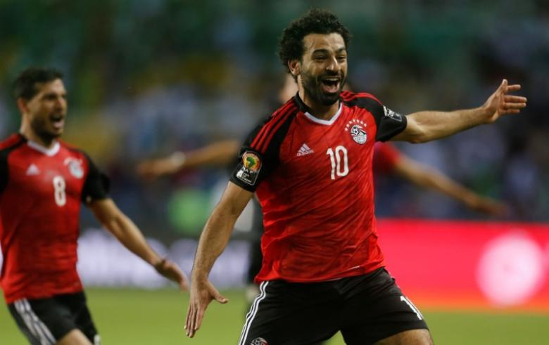 salah to betop scorer for egypt
