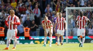 stoke city relegated to the championship