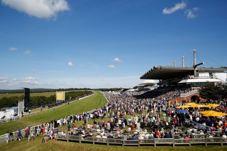 sunny goodwood races by channel 4