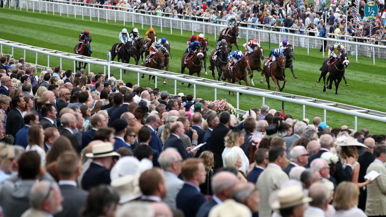 Ginger Nut trained by Richard Hannon wins at York