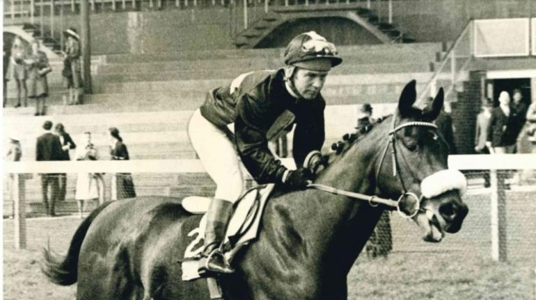mill reef wins the greenham stakes in 1971
