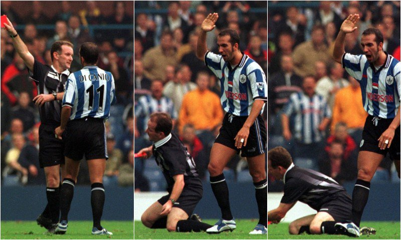 di canio pushover compilation
