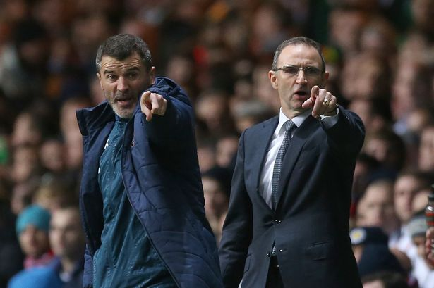 martin oneill roy keane pointing