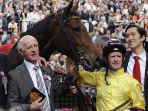 Mick Kinane on Sea the Stars, nine years after Prix de l'Arc de Triomphe glory
