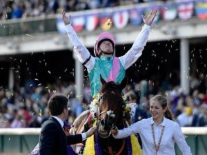 Watch Frankie Dettori ride Expert Eye to win Breeders' Cup Mile