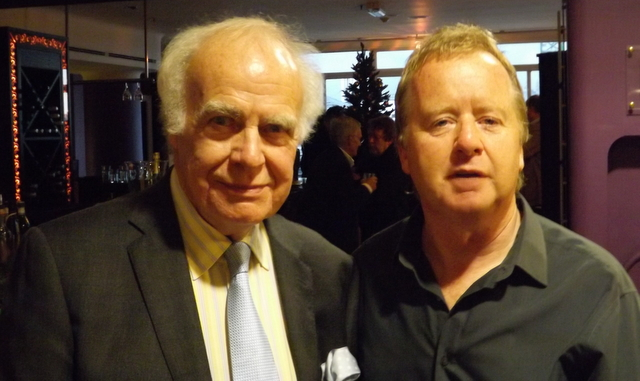 vernon with hugh mcilvanney