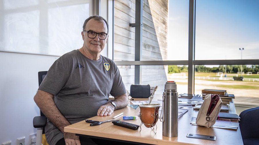 Marcelo Bielsa manager of leeds united