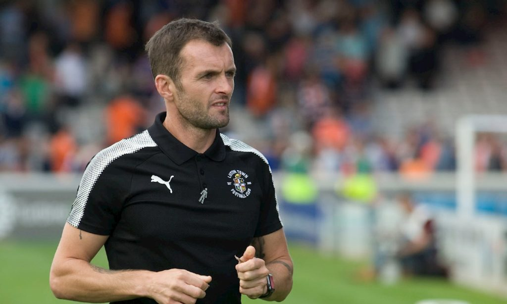 nathan jones managed luton to promotion