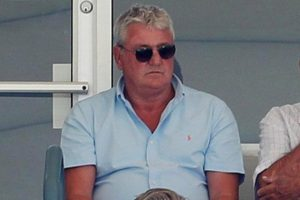 steve bruce at the cricket