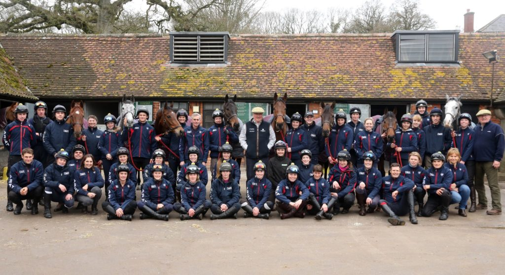 Paul nicholls and his team